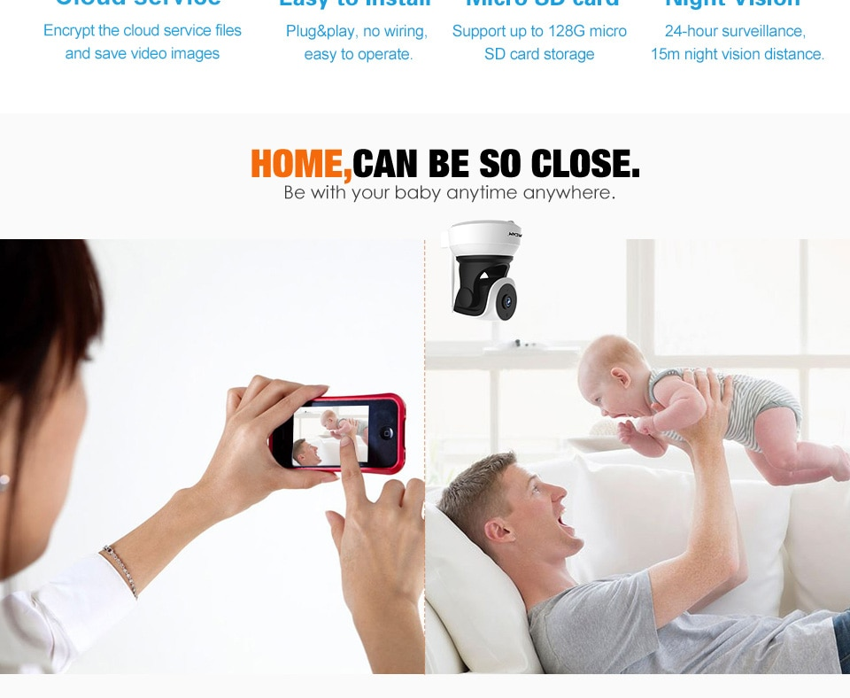 home security camera baby monitor