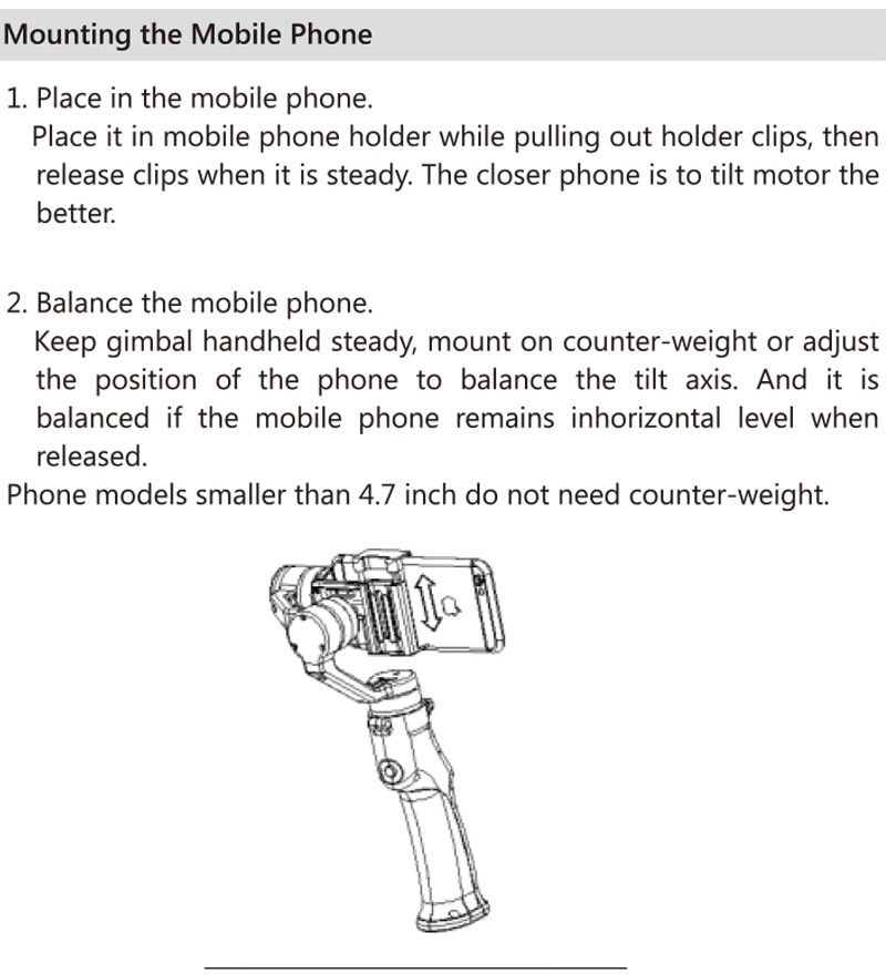 best smartphone gimbal stabilizer