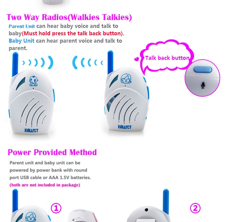 baby monitor audio cheap