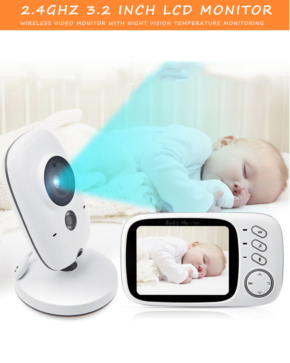 best baby video monitor night vision