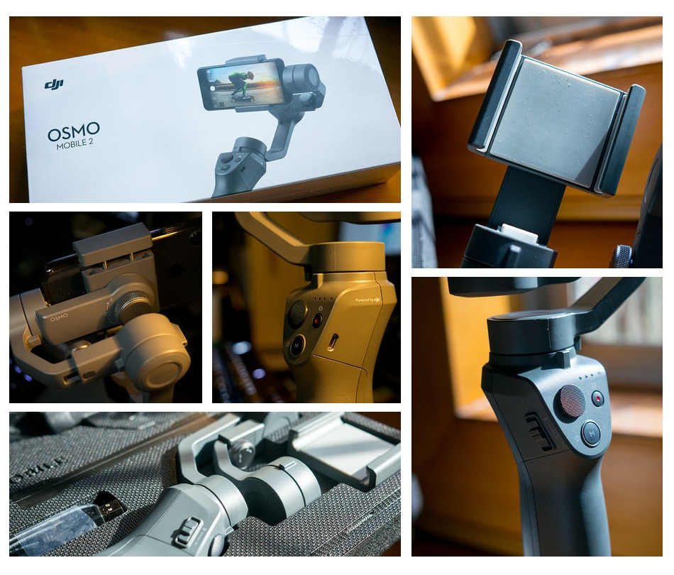 3-axis handheld stabilizer for smartphone