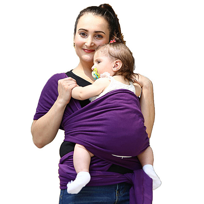 Solly Baby Wrap Carrier For Newborns Soft Infant Breathable Wrap Comfortable Nursing Cover