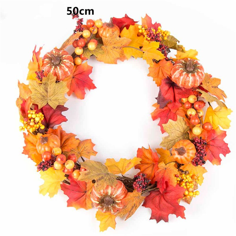 harvest leaf garland