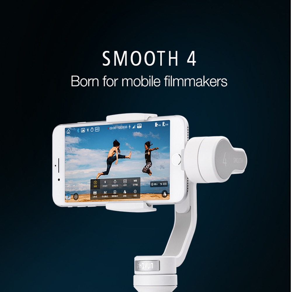3 axis gimbal stabilizer smartphone