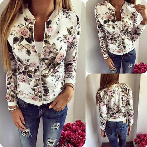 floral jacket womens
