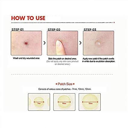 acne cover patch for makeup