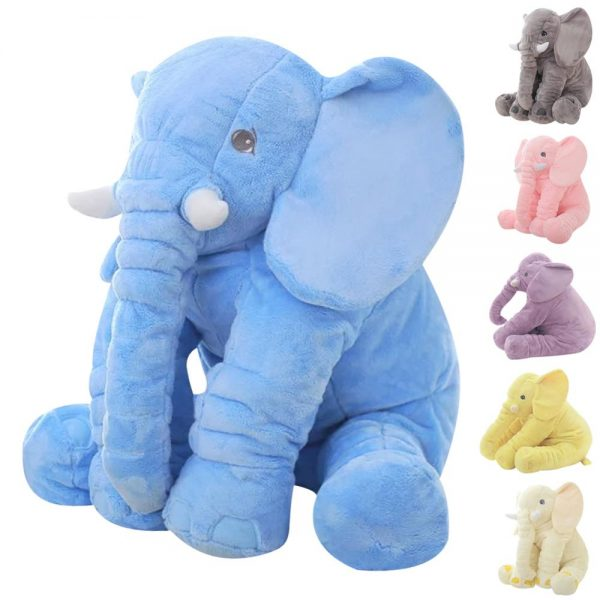 big plush elephant for baby