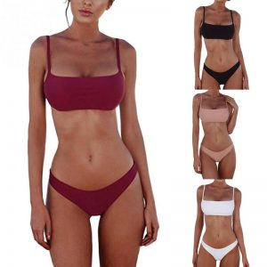 push up padded bikini set