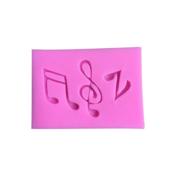 musical silicone mold