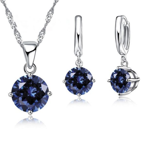 crystal necklace sets for sale
