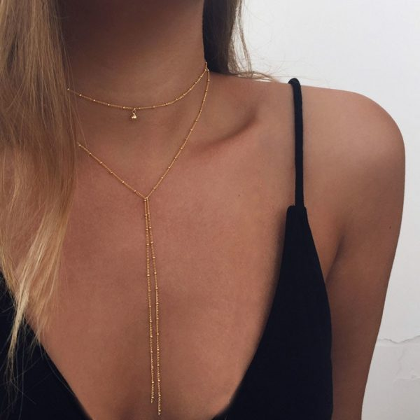 chain choker necklace for sale
