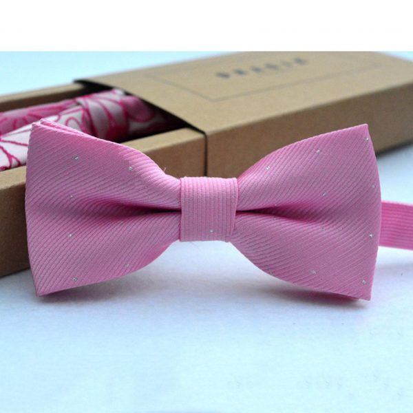 Brand new fashion popular butterfly gravata party bowtie wedding bow tie for boys girls candy color dot pattern bowknot 5