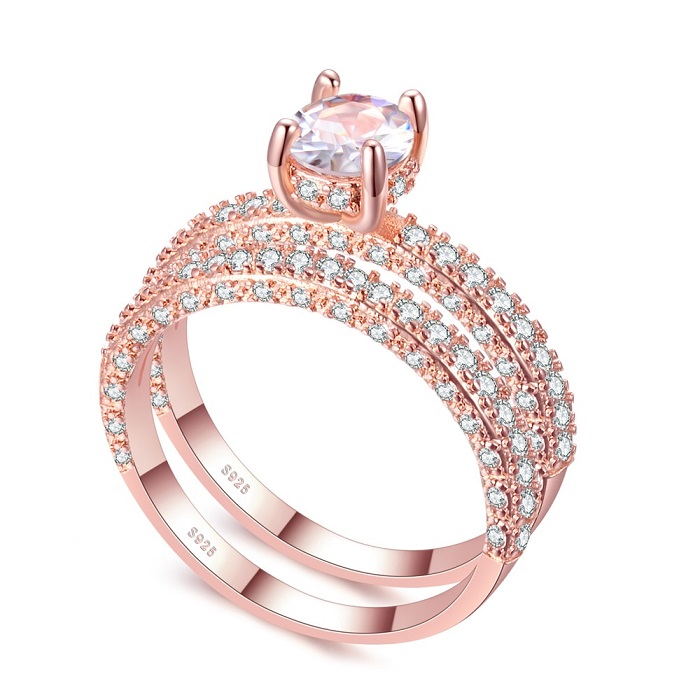 rose gold rings for sale