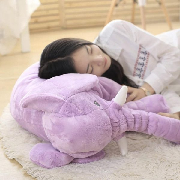 elephant baby sleeping cushion
