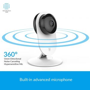 YI 1080p Home Camera Wireless IP Security Surveillance System YI Cloud Available (US/EU Edition) 1