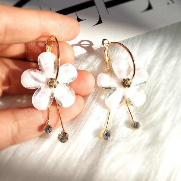 flower petal earring