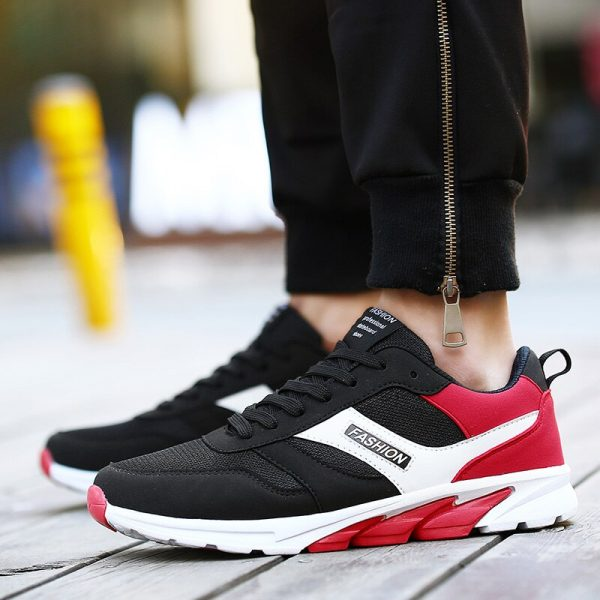 2017 New Arrival Couples Athletic Shoes Black Blue Original Sneakers Autumn Men Outdoor Running Shoes Sport Trainers 1