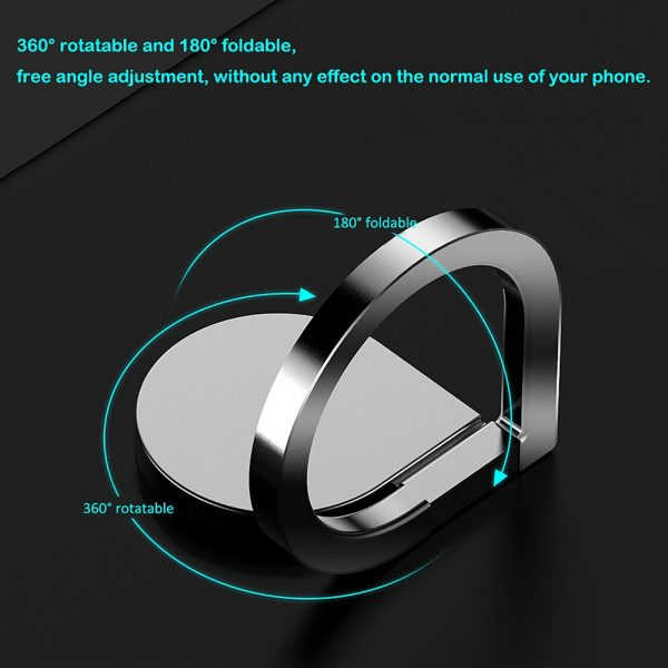 magnetic phone ring holder