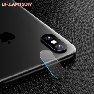 For Apple iPhone X 8 7 6 6S Plus Accessory Back Camera Lens Screen Protector Full Cover Tempered Glass Film For iPhone XS MAX XR