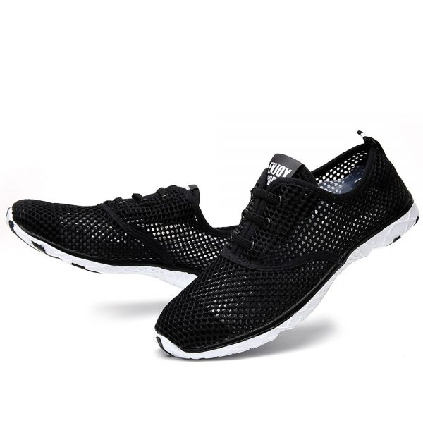 Plus Size Men Summer Running Shoes Women Sneakers 2017 Mesh Breathable Sport Shoes Men Beach Water Shoes Womens Trainers Socone 4