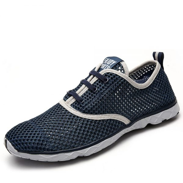 Plus Size Men Summer Running Shoes Women Sneakers 2017 Mesh Breathable Sport Shoes Men Beach Water Shoes Womens Trainers Socone 1