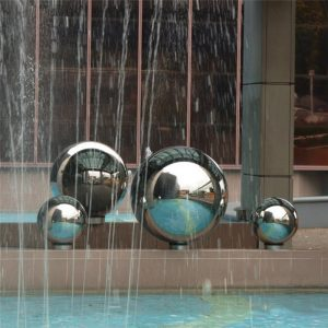 High Gloss Glitter Stainless Steel Ball Sphere Mirror Hollow Ball Home Garden Decoration Supplies Ornament 19mm~120mm 1