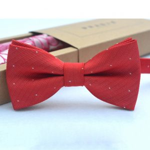 Dot Butterfly Bow tie