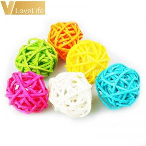 rattan ball decoration