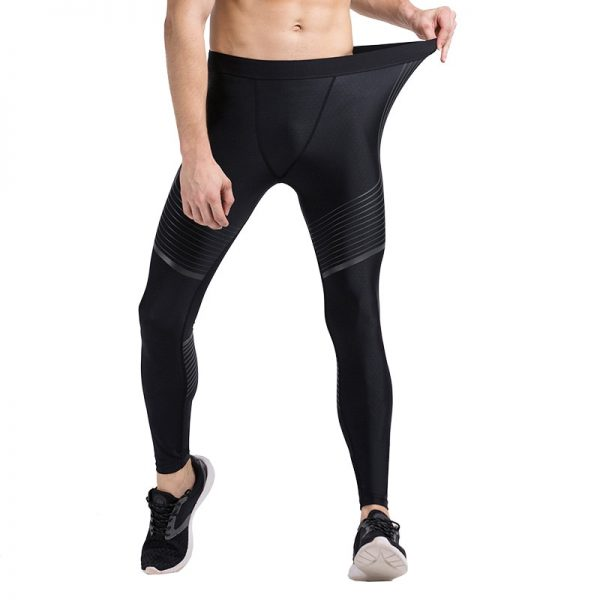 Detector Running Tights Men Jogging Sport Leggings GYM Fitness Compression Pants Exercise Quick-Drying Trousers 5