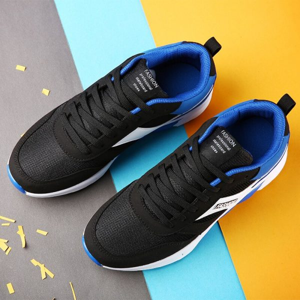 2017 New Arrival Couples Athletic Shoes Black Blue Original Sneakers Autumn Men Outdoor Running Shoes Sport Trainers 5