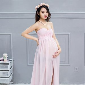 Pregnan Women dress Maternity Photography Props Elegant Pregnancy Clothes Dress Maternity Dresses For Photo Shoot Clothing 1