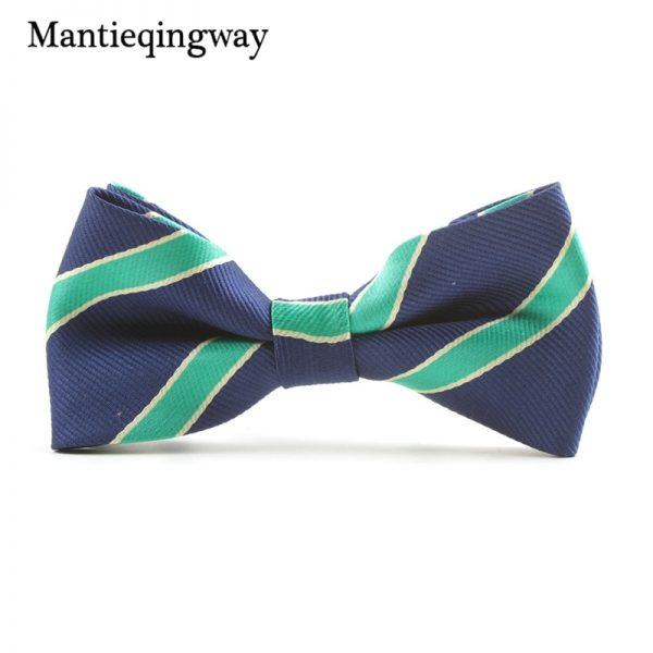 Mantieqingway Casual Children Bow Tie Accessories Cartoon Bowtie Polyester Bow Tie for Boys Neck Wear Bowknot Christmas Bow Ties 4