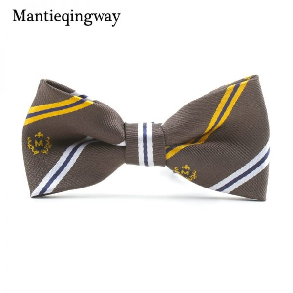 Mantieqingway Casual Children Bow Tie Accessories Cartoon Bowtie Polyester Bow Tie for Boys Neck Wear Bowknot Christmas Bow Ties 2