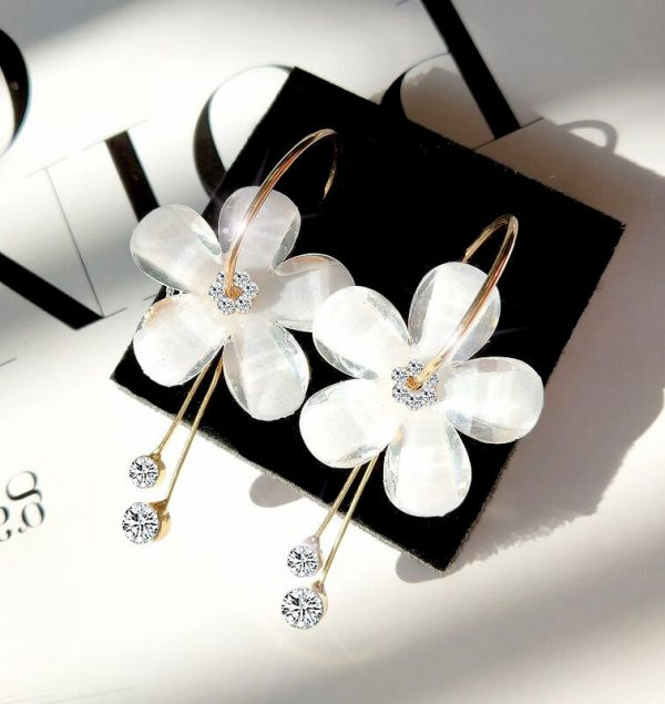 buy flower earrings