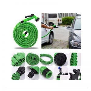 Hot Magic flexible hose Expandable Garden Hose reels Garden Water Hose Car Pipe watering connector Blue Green 25-200FT 1