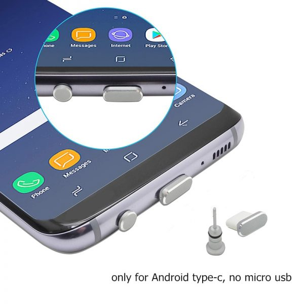 cell phone port plugs