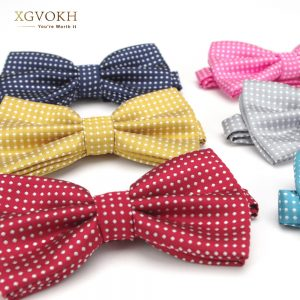 cheap polka dot bow ties