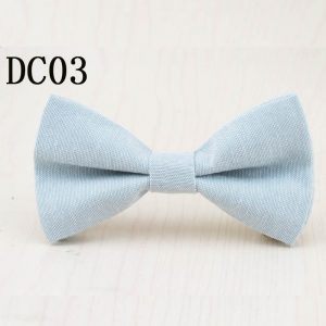 Brand New Children Bow Tie Cute Baby Bowtie Candy Colors Tuxedo Neck tie bow flower Girl Accessory Cotton Kids Bow Ties 1