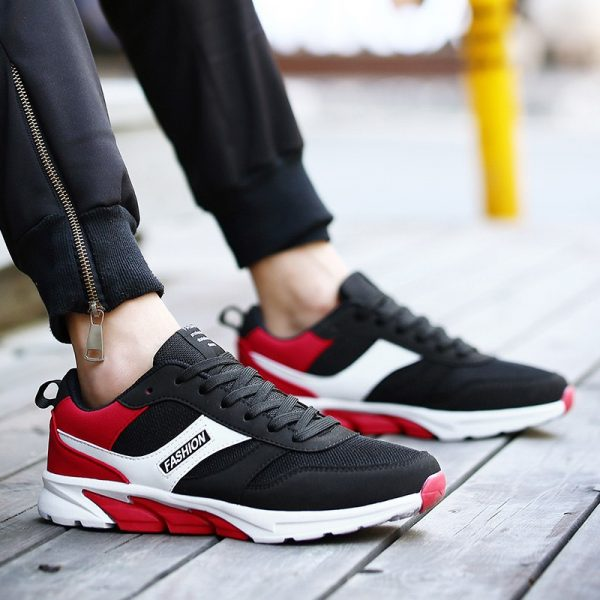 2017 New Arrival Couples Athletic Shoes Black Blue Original Sneakers Autumn Men Outdoor Running Shoes Sport Trainers 4