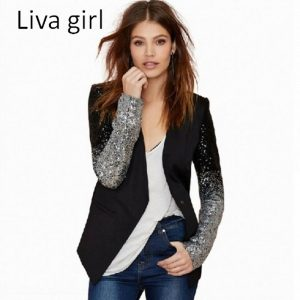 Patchwork Suit Coats for women