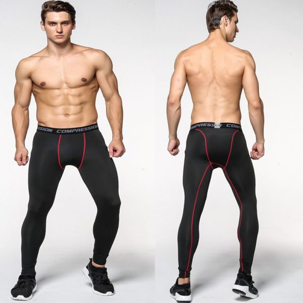 Mens Camouflage Tight trousers Running training compression Quick-drying Gym jogging Fitness pants Men leggings drawers Briefs 2
