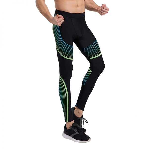 Detector Running Tights Men Jogging Sport Leggings GYM Fitness Compression Pants Exercise Quick-Drying Trousers 3