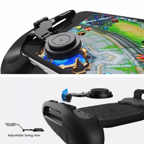 3 in 1 Universal Game Joystick+ Mini Joystick Grip+ Stand Bracket Mobile phone Joystick for 4.7-7in Phone for PUBG Shooting Game 3