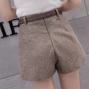 women's wide leg shorts