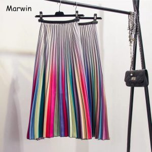 cheap rainbow skirts
