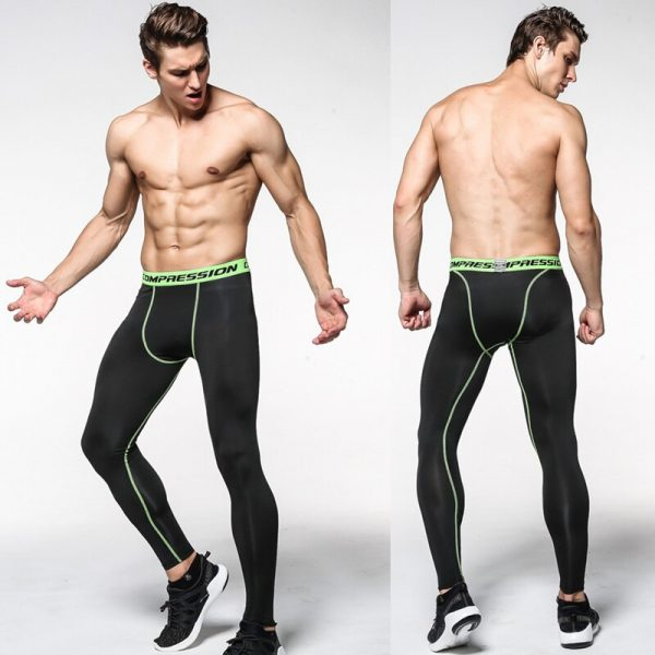 Mens Camouflage Tight trousers Running training compression Quick-drying Gym jogging Fitness pants Men leggings drawers Briefs 3