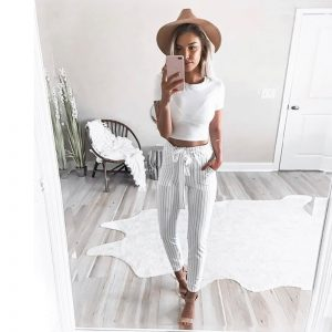 striped pants for sale