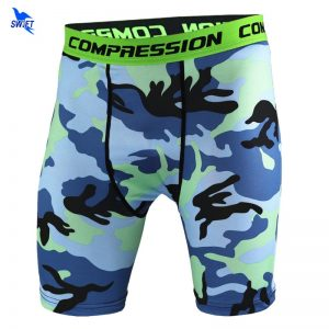 Camouflage Running Shorts