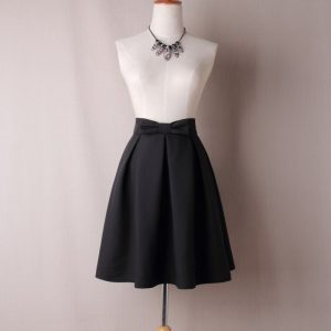 women's skirt with bow