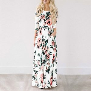 buy floral maxi dress online